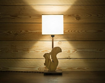 Table lamp * Squirrel
