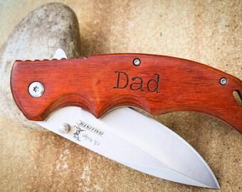engraved knife custom folding knife