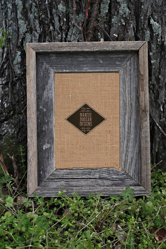 Barn Wood Picture Frame | 5x7 Barn Wood Frame |