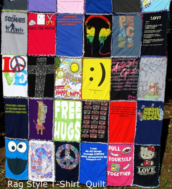 Keepsake T Shirt Duvet Blankets And Rag Quilts By