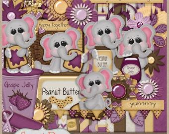 Peanut Butter & Jelly Time Digital Kit