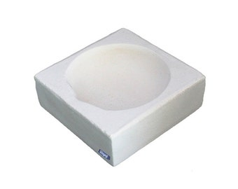 """Square Crucible 3-1/8"""" Melting Casting Dish For Jewelry Gold Silver Scrap Wa 365-524"""