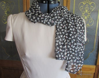 Summer Scarf with Mini hearts