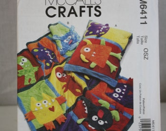 McCall's Crafts Pattern No. M6411 (OSZ) 2011 Uncut