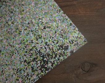 Glitter Material Mermaid Mix 8X10 sheet