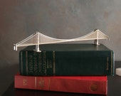 Miniature Golden Gate Bridge Model Kit with Laser Cut Parts,  San Francisco California