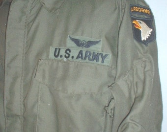 US Army aviator's shirt Large Regular circa late 1960s-1970s
