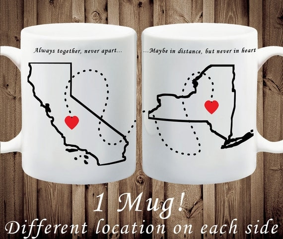 Long Distance Relationship Gift - Going Away Gift, Going Away Present, Best Friend Gift