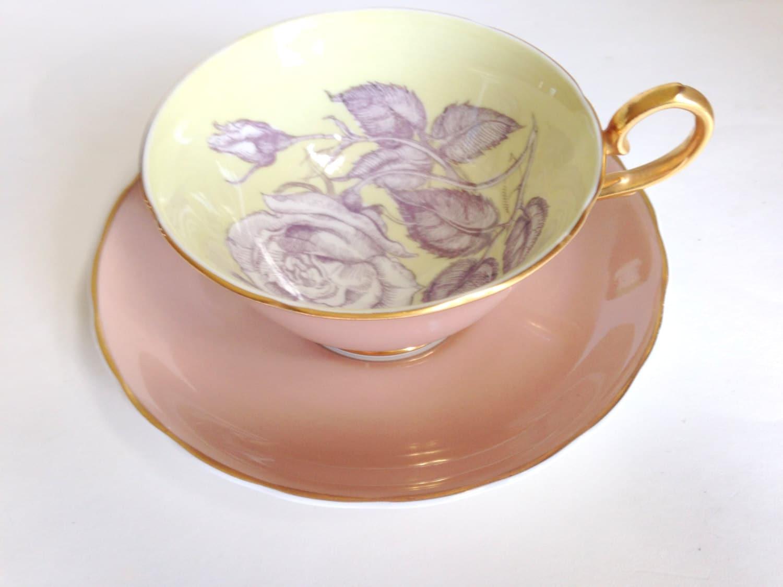 Big Rose Tea Cup And Saucer Susie Cooper Tea Cups Tea Set