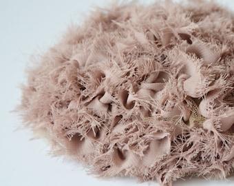 SALE 30%OFF!!! Fascinator Pink Ruffle