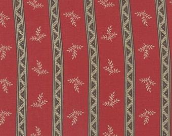 Bon Voyage - Stripe Rouge 1/2yd