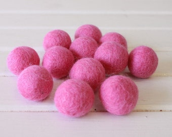 Strawberry Felt Balls 12 count