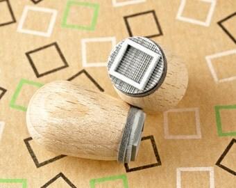 Square - mini stamp Ø 1,4 cm