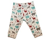 Organic Wildlife Leggings