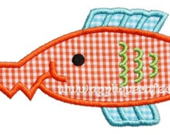 Personalized Saw Fish Applique Shirt or Onesie