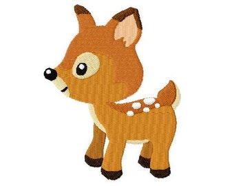 "Embroidery file ""Deer"" - SOFORTDOWNLOAD"