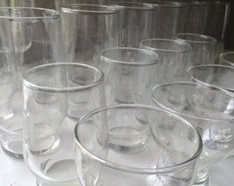 Vintage Crystal Glasses Barware Seven Styles of Glassware Forty Five  Monogrammed