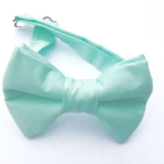 mint green bow tie green bow tie mint green necktie bow