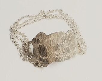 Lace me up cuff bracelet