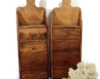 Spice Rack, Kitchen Spice Rack With Drawers Hanging Spice Holder