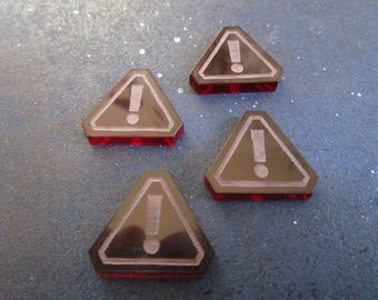 Star Wars X-Wing Game Compatible Stress Tokens 4 or 8 pack