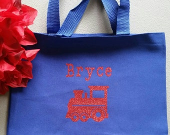 Personalized Tote Bag for Kids - Great for Overnight Stays, Car Trips, Daycare - Back to school - Great Gift