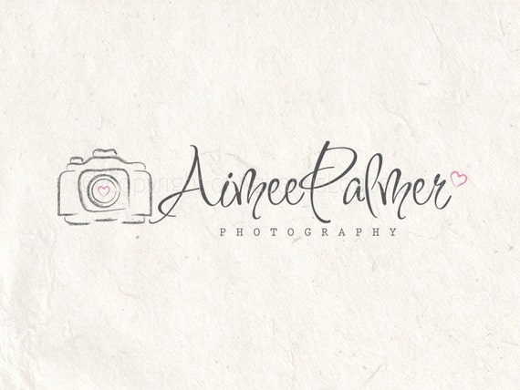 camera watermark logos etsy premade psd business photoshop instant photographylogos file custom digital diy create inspiration listing tips edit ueruenuen