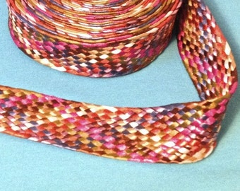 braided belt of color 4, 2 cm