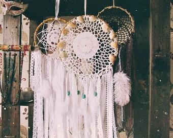 Customized Dreamcatcher - Wall Hanging Dream Catcher - Bohemian Home Decor - Hippie Boho - Bedroom Decor - Gypsy Room - Gift Idea