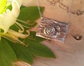 P59 Pure Silver Happy Snail Pendant - 10g