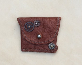 Small Steampunk Coin Purse