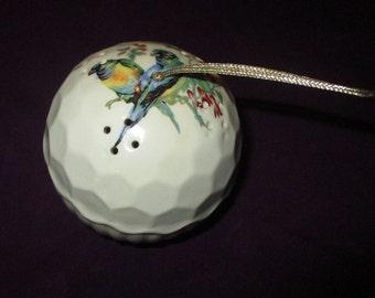 Vintage Birds Made in Japan Ceramic Closet Deodorizer