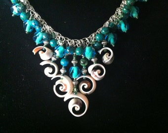 Tiered Shells Necklace