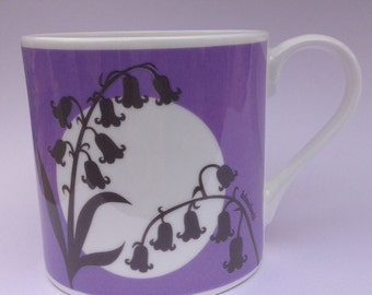 Bluebell | Cornwall Hedgerow | Fine Bone China Mug | Alison Bick