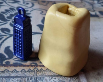 3D Miniature British Police Box- Flexible Silicone Mold for polymer clay, wax, candy, fondant, resin, etc.