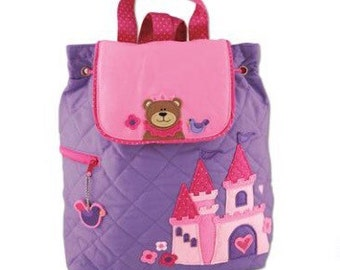 personalized backpack,princess personalized backpack,kids personalized backpack