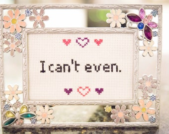 I can't even subversive cross-stitch