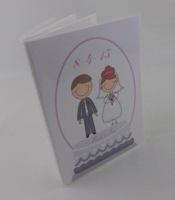 Personalised Wedding Photo Albums: Wedding Photo Album Bride Groom Personalized Photo Album