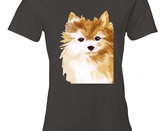 Pomeranian Dog T-Shirt for Women