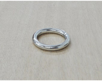 """10 pack 1"""" I.D. Nickel Plated RINGS over Steel - 12990"""