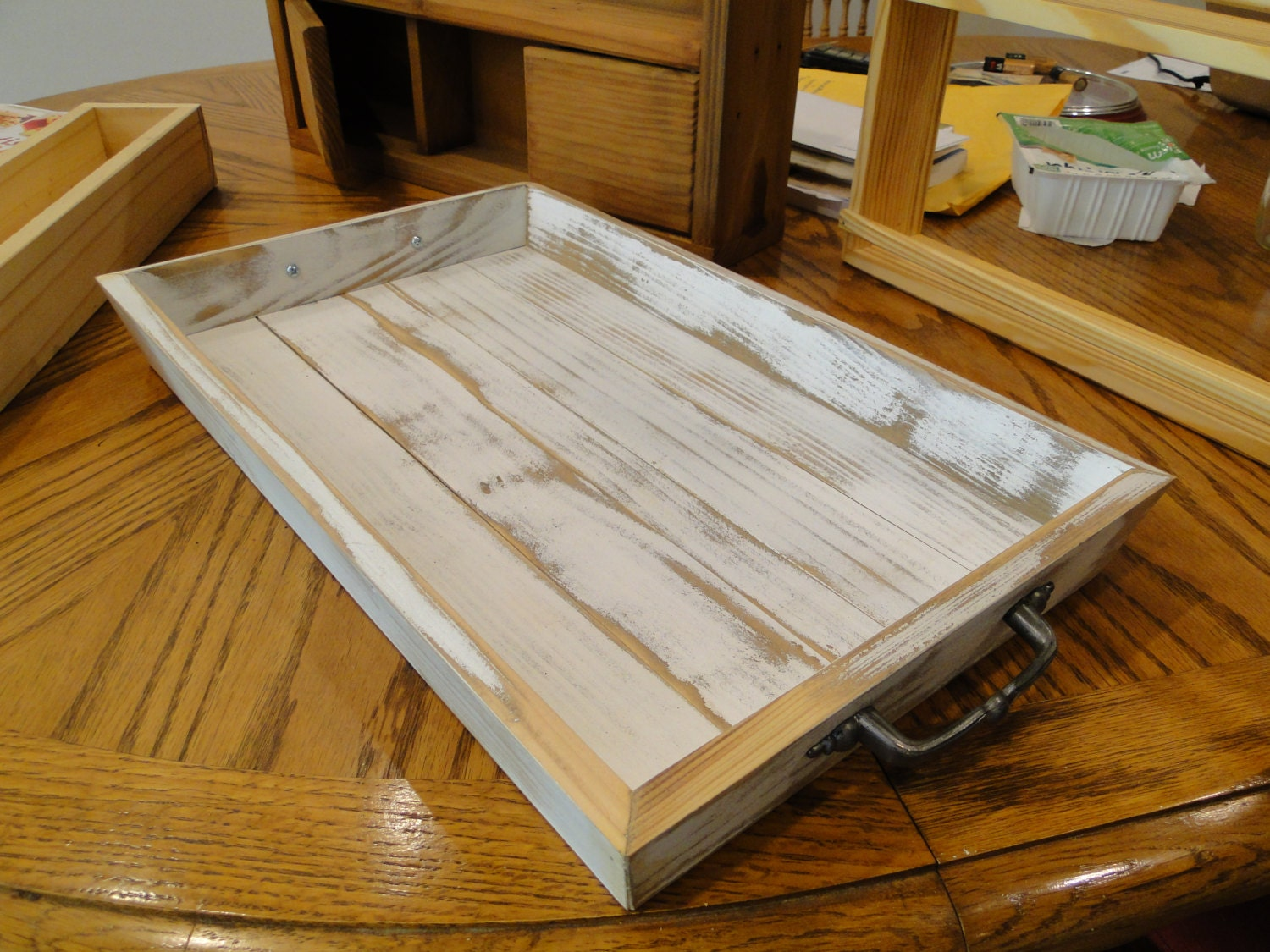 Rustic Serving Tray Kitchen Decor