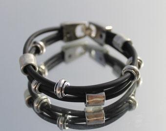 small Rubber Bracelet