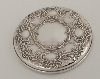 Sterling Silver Pocket Mirror Towle