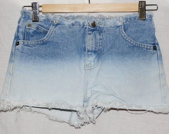 Rave 4 Real Bleach Ombré Shorts