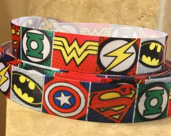 5 YDS Superhero Ribbon