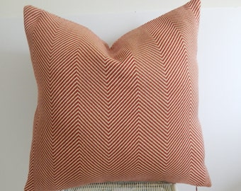 Chevron 18x18 or 19x19 or 20x20 pillow cover, throw pillow, decorative pillow, front and back are the same