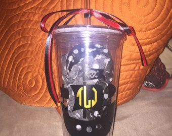 Pirate ship tumbler