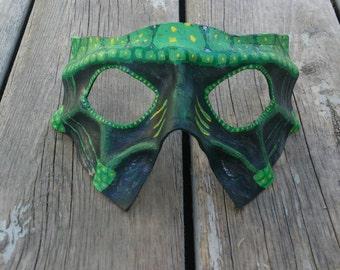 Leather Reptile Mask Festival Mask masquerade