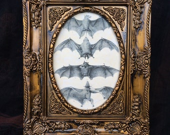 Unique Scary Picture Frame Related Items Etsy