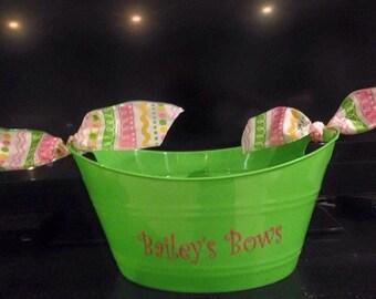 Personalized Buckets/Storage Bins